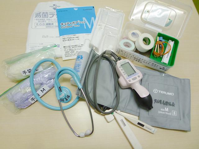 ONA救護ナース 救護物品